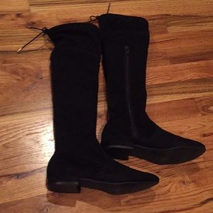 Stevie's City girl over the knee suede boots, NWOT